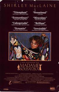 Madame Sousatzka - 27 x 40 Movie Poster - Style A