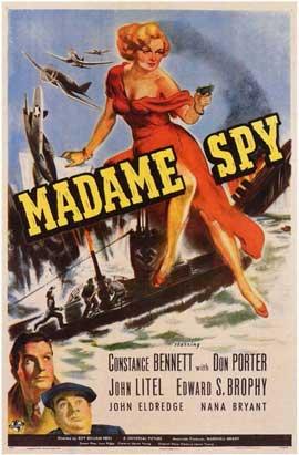 Madame Spy - 11 x 17 Movie Poster - Style A