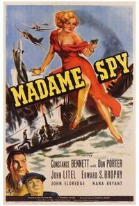 Madame Spy - 27 x 40 Movie Poster - Style A
