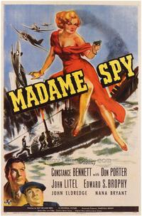 Madame Spy - 43 x 62 Movie Poster - Bus Shelter Style A