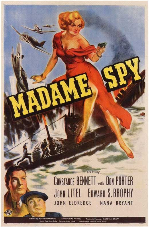 Madame Spy movie
