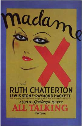 Madame X - 11 x 17 Movie Poster - Style A
