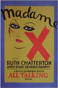 Madame X - 43 x 62 Movie Poster - Bus Shelter Style A