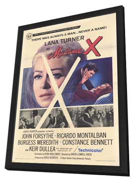 Madame X - 27 x 40 Movie Poster - Style A - in Deluxe Wood Frame