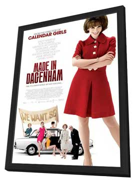 Made in Dagenham - 11 x 17 Movie Poster - Style A - in Deluxe Wood Frame