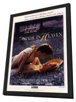 Made in Heaven - 11 x 17 Movie Poster - Style B - in Deluxe Wood Frame