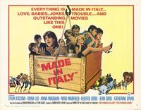 Made in Italy - 11 x 14 Movie Poster - Style A