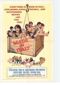 Made in Italy - 27 x 40 Movie Poster - Style A