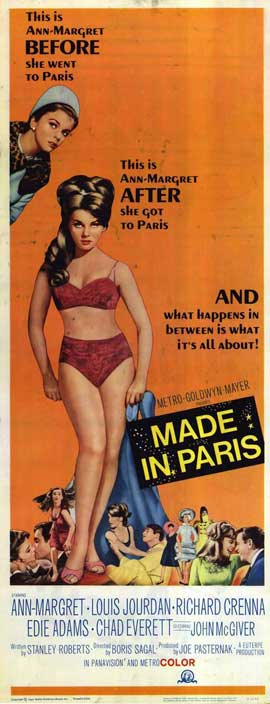 Made In Paris - 14 x 36 Movie Poster - Insert Style A