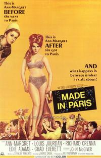 Made In Paris - 43 x 62 Movie Poster - Bus Shelter Style A