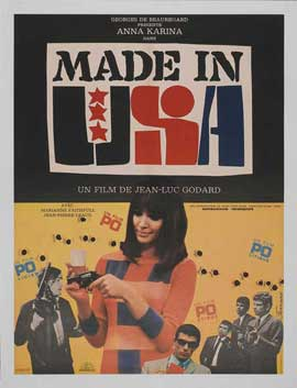 Made in U.S.A. - 11 x 17 Movie Poster - French Style A