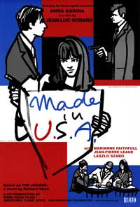 Made in U.S.A. - 43 x 62 Movie Poster - Bus Shelter Style A