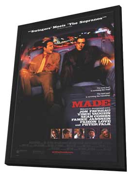 Made - 27 x 40 Movie Poster - Style A - in Deluxe Wood Frame