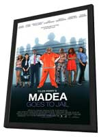 Madea Goes to Jail - 11 x 17 Movie Poster - Style F - in Deluxe Wood Frame