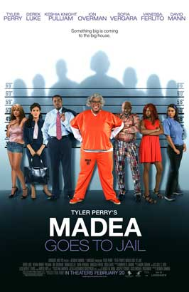 Madea Goes to Jail - 43 x 62 Movie Poster - Bus Shelter Style B