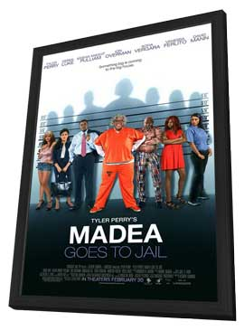 Madea Goes to Jail - 27 x 40 Movie Poster - Style B - in Deluxe Wood Frame