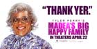 Madea's Big Happy Family - 20 x 40 Movie Poster - Style B