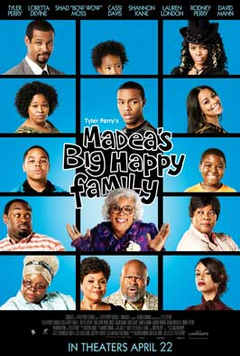 Madea's Big Happy Family - 11 x 17 Movie Poster - Style F