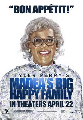 Madea's Big Happy Family - 11 x 17 Movie Poster - Style J