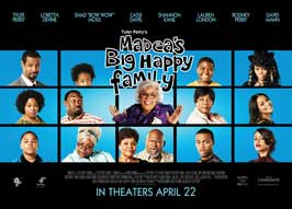 Madea's Big Happy Family - 43 x 62 Movie Poster - Bus Shelter Style B
