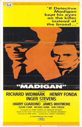 Madigan - 11 x 17 Movie Poster - Style A