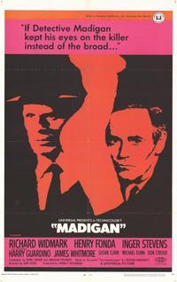 Madigan - 11 x 17 Movie Poster - Style B