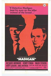 Madigan - 27 x 40 Movie Poster - Style B