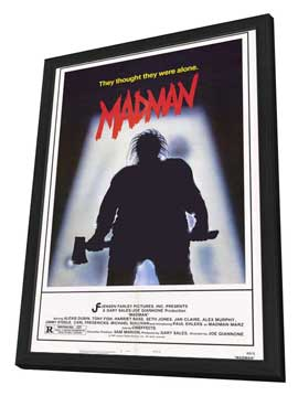 Madman - 27 x 40 Movie Poster - Style A - in Deluxe Wood Frame
