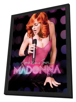 Madonna: The Confessions Tour Live from London - 27 x 40 Movie Poster - Style A - in Deluxe Wood Frame