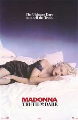 Madonna Truth or Dare - 11 x 17 Movie Poster - Style B