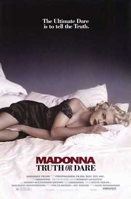 Madonna Truth or Dare - 11 x 17 Movie Poster - Style C