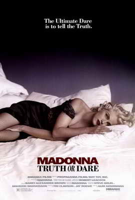 Madonna Truth or Dare - 27 x 40 Movie Poster - Style A