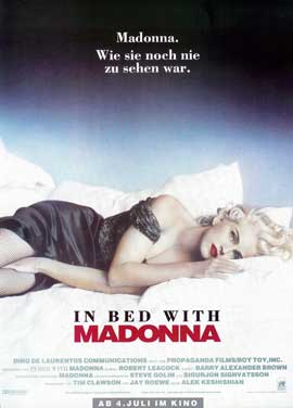 Madonna Truth or Dare - 27 x 40 Movie Poster - German Style A