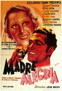 Madre Alegria - 27 x 40 Movie Poster - Spanish Style A