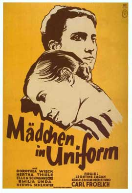 Maedchen in Uniform - 11 x 17 Movie Poster - Style A