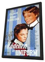 Maedchen in Uniform - 11 x 17 Movie Poster - German Style A - in Deluxe Wood Frame