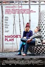 """Maggie's Plan"" Movie Poster"
