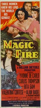 Magic Fire - 14 x 36 Movie Poster - Insert Style A