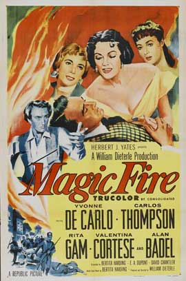 Magic Fire - 11 x 17 Movie Poster - Style A