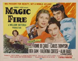 Magic Fire - 22 x 28 Movie Poster - Half Sheet Style A