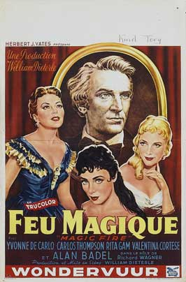 Magic Fire - 11 x 17 Movie Poster - Belgian Style A