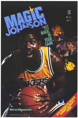 Magic Johnson - 27 x 40 Movie Poster - Style A