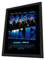 Magic Mike - 11 x 17 Movie Poster - Style A - in Deluxe Wood Frame