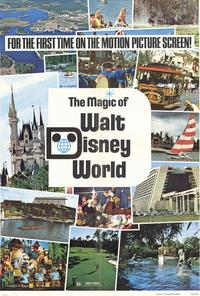 Magic of Walt Disney World - 27 x 40 Movie Poster - Style A