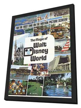 Magic of Walt Disney World - 11 x 17 Movie Poster - Style A - in Deluxe Wood Frame