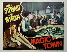 Magic Town - 11 x 14 Movie Poster - Style D