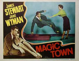 Magic Town - 11 x 14 Movie Poster - Style E