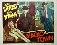 Magic Town - 11 x 14 Movie Poster - Style F