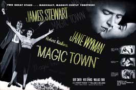 Magic Town - 11 x 17 Movie Poster - Style A