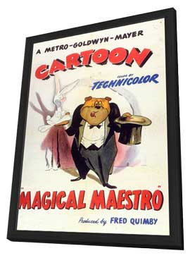 Magical Maestro - 11 x 17 Movie Poster - Style A - in Deluxe Wood Frame